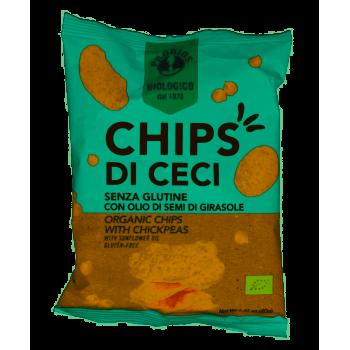 CHIPS DI CECI 40GR